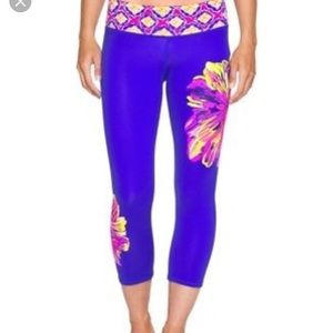 Lilly Pulitzer weekender cropped pants L
